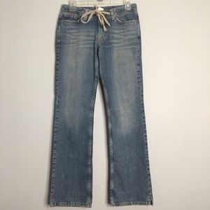 Lucky Brand 56 Drawstring Wonder Jeans 2 28 womens